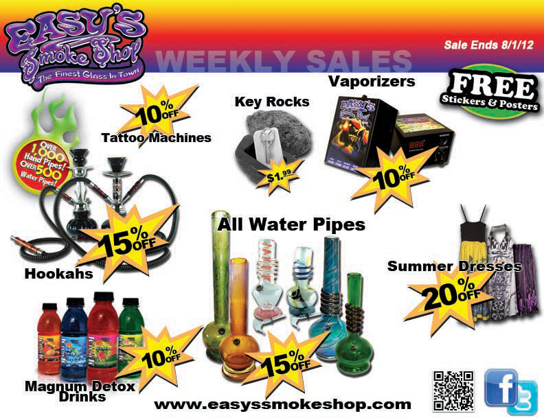 Head Shops in Fort Worth, Denton, Bedford, Lake Worth, Springtown, Weatherford and Keller