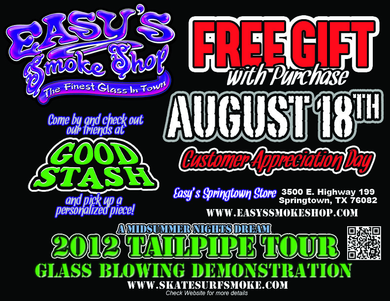 Good Stash 2012 Tail Pipe Tour