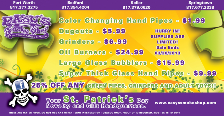 Glass Pipes, Grinders, Oil Burners