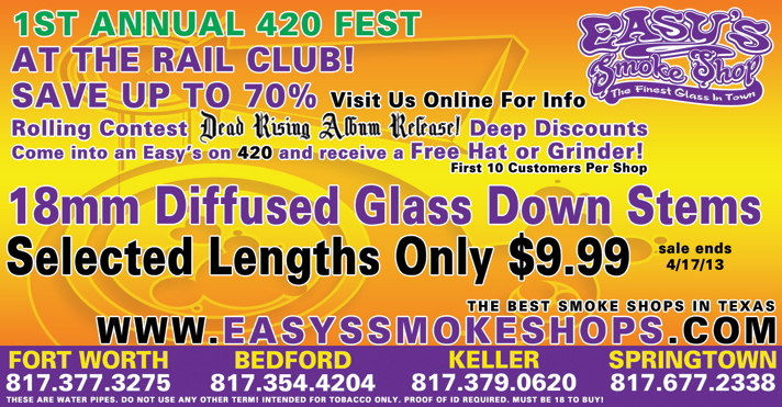Easy's Smoke Shop - Glass Pipes