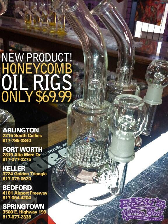 Honey Comb Oil Rigs