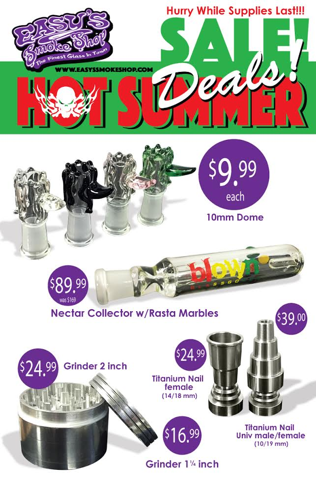 Easy's Hot Summer Sale