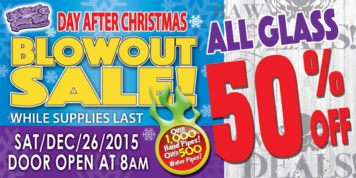 Day After Christmas Sale at Easy's