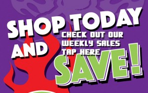 Weekly Sales at Easy's Smoke Shop